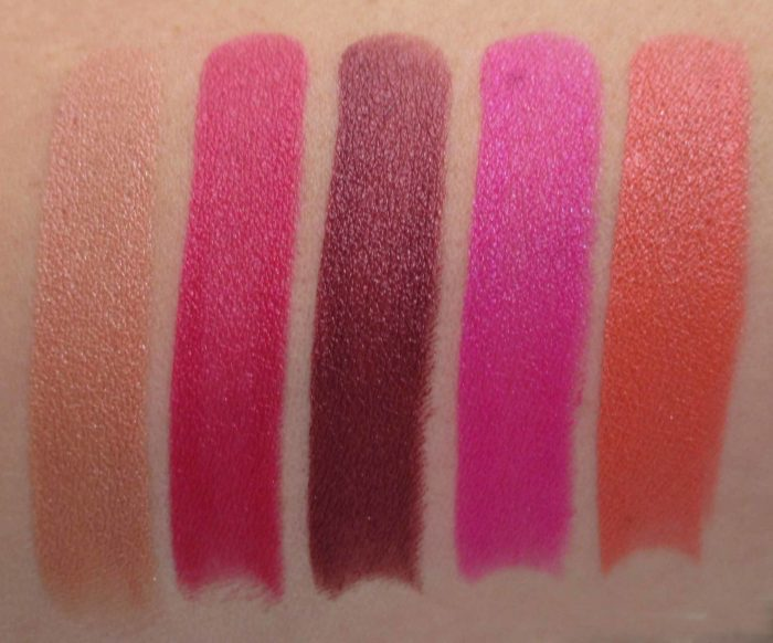Estee Lauder Pure Color Envy Metallic Matte Sculpting Lipstick Swatches, Limited Edition