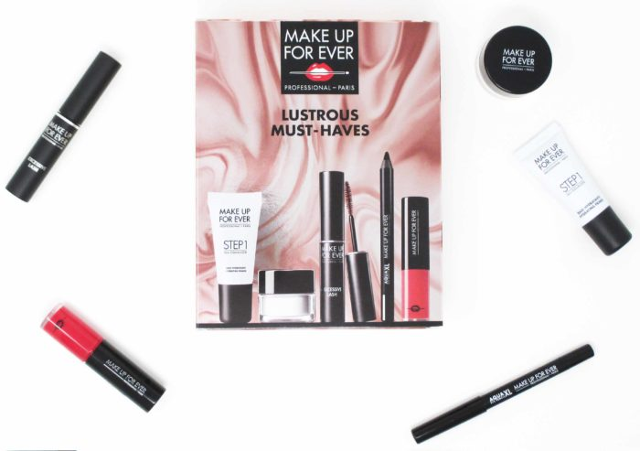 Make Up For Ever Lustrous Must Haves
