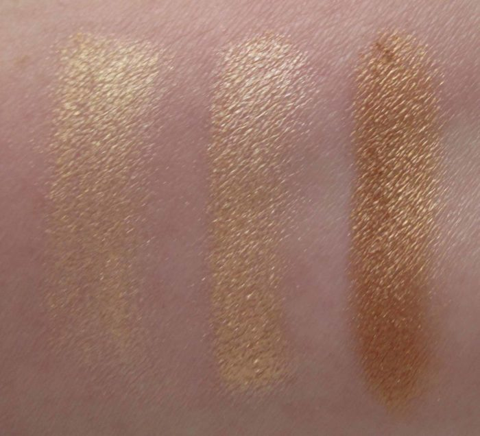 MAC Hyper Real Glow Palette, Get It Glowin' Swatches