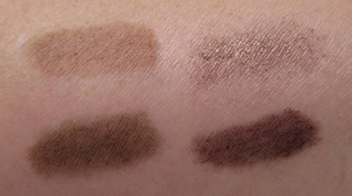 MAC x Patrick Starr Destination Diva, Sugah Mama Eye Shadow x 4 Swatches